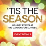'Tis The Season Live Carolers at The Gardens on El Paseo in Palm Desert