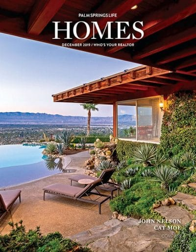 Palm Springs Life HOMES December 2019