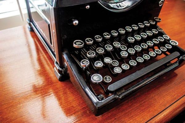frank capra type writer