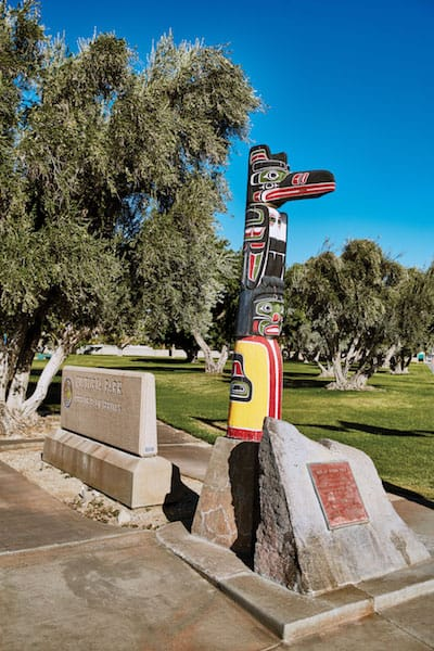 palm springs totem pole