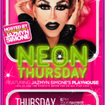 Neon Thursday at Toucan's Tiki Lounge in Downtown Palm Springs