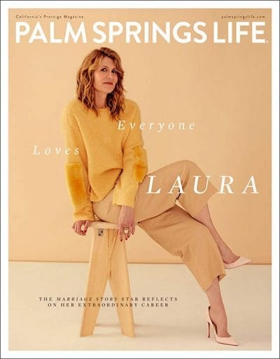 Palm Springs Life Magazine January 2020 - Laura Dern