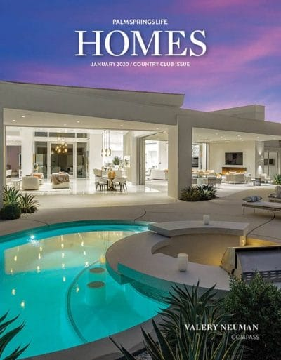 Palm Springs Life HOMES January 2020