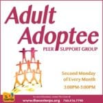 New Adult Adoptee Peer Support Group at The Center in Palm Springs