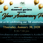 5 Year Anniversary Party for Stonewall Gardens in Palm Springs