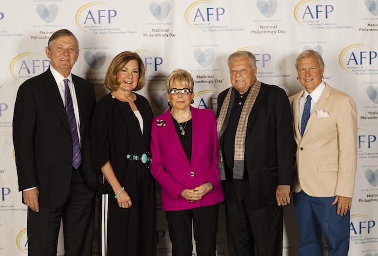 Philanthropy Honorees Have Their Day in the Desert
