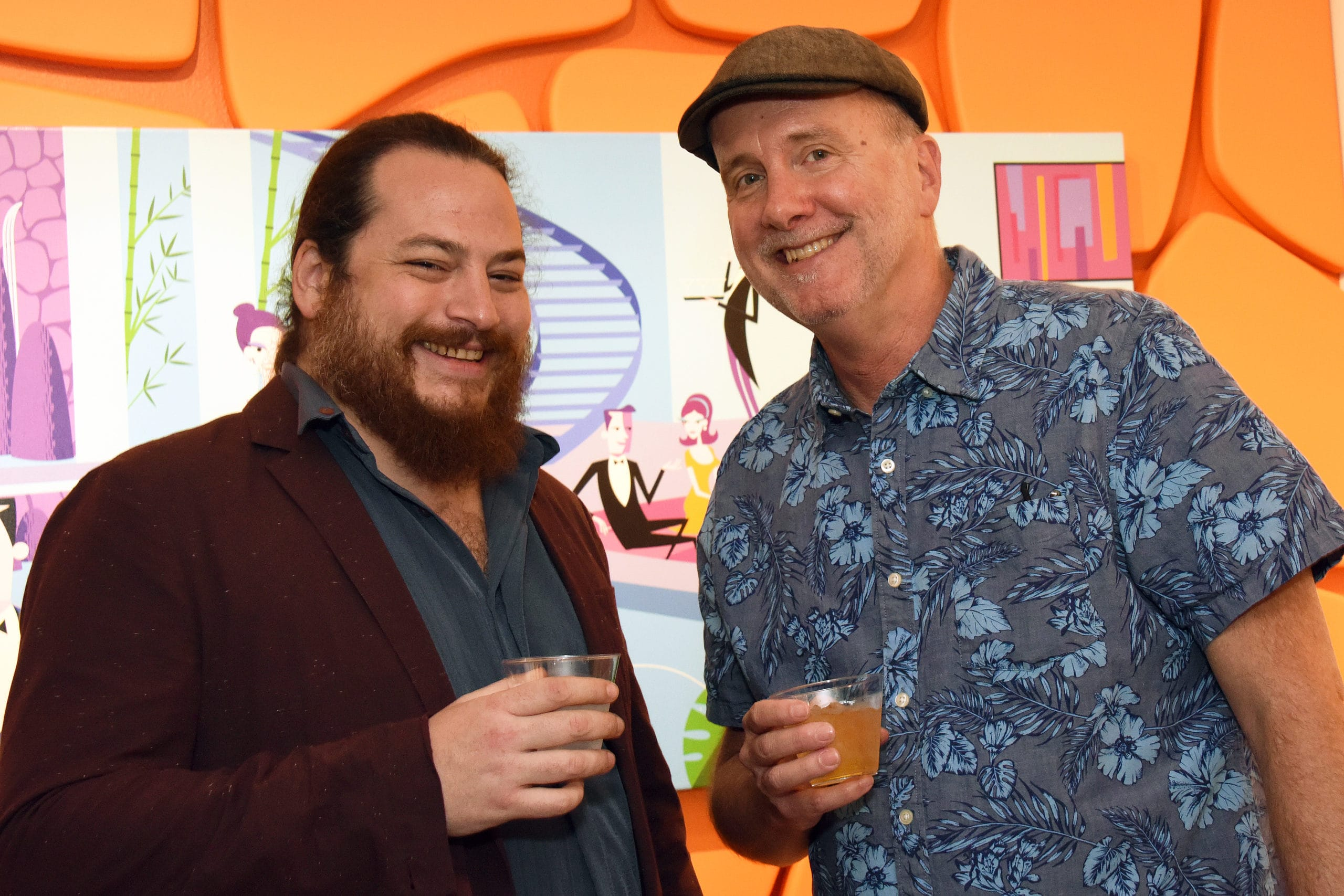 Jay Mewes, Kevin Smith Celebrate Shag Print Release in Palm Springs