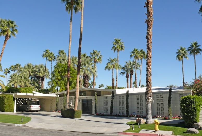 Explore Palm Springs: Concrete Screen Block