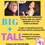 "Special CVRep Fundraiser: ""The Big and Tall Show"" at the CVRep Playhouse in Cathedral City"