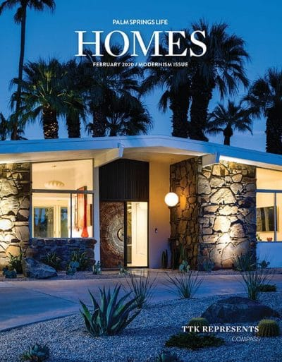 Palm Springs Life HOMES February 2020