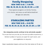 February Stargazing Events at the Rancho Mirage Library and Observatory