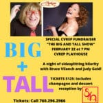 """Special CVRep Fundraiser: """"The Big and Tall Show"""" at the CVRep Playhouse in Cathedral City"""