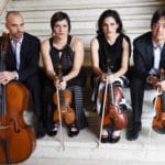 Jupiter Quartet Presented by International Classical Concerts of the Desert Performing Music by Schubert and Beethoven