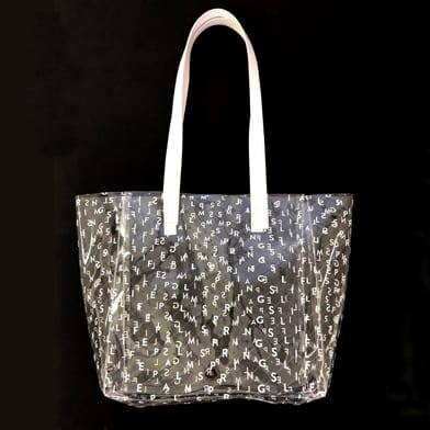 Palm Springs Life Clear Tote Bag