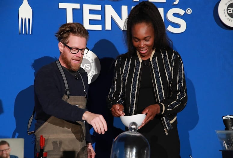 Tennis Stars and Gourmet Cuisine: Recipe for a Perfect Evening