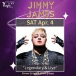 Jimmy James Performs at The Purple Room in Palm Springs