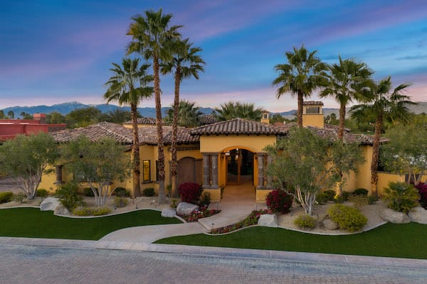 Exquisite Lakeside Estate in Rancho Mirage