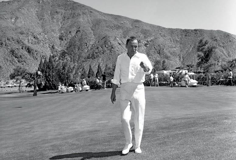 frank sinatra golf