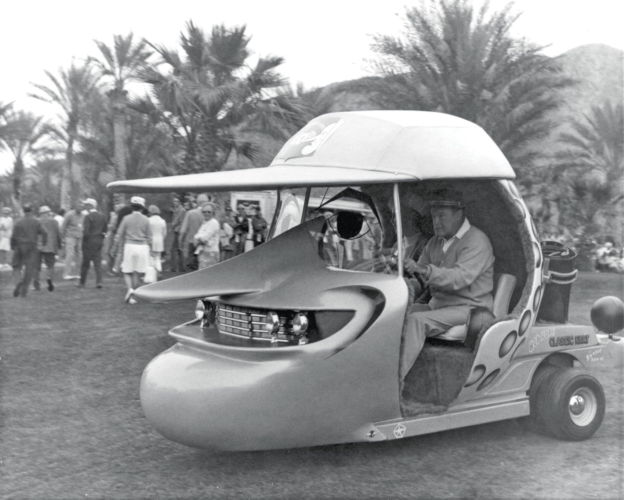 Bob Hope golf cart