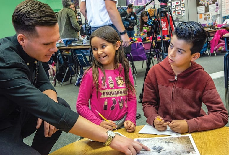 The Agua Caliente Story Takes Root in School Curriculum