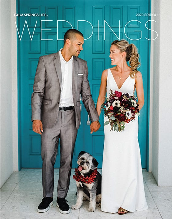 Palm Springsd Life Wedding - 2020 Cover