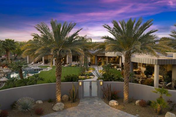 Michael Kiner Design Creates Stunning Rancho Mirage Estate