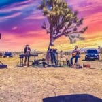 Drive-In Concert on the Yucca Mesa in Yucca Valley
