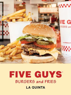 Five Guys Burgers and Fries La Quinta