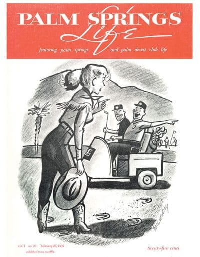 Palm Springs Life - February 12 1959 - Cover Art