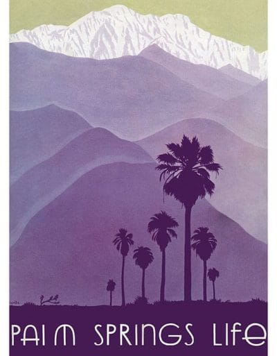 Palm Springs Life - 1937 - Cover Art