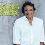 Johnny Mathis, The Voice of Romance Tour Performance at The Agua Caliente Resort Casino Spa in Rancho Mirage