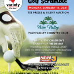 3rd Annual Variety Golf Scramble Fundraiser at Palm Valley Country Club in Palm Desert