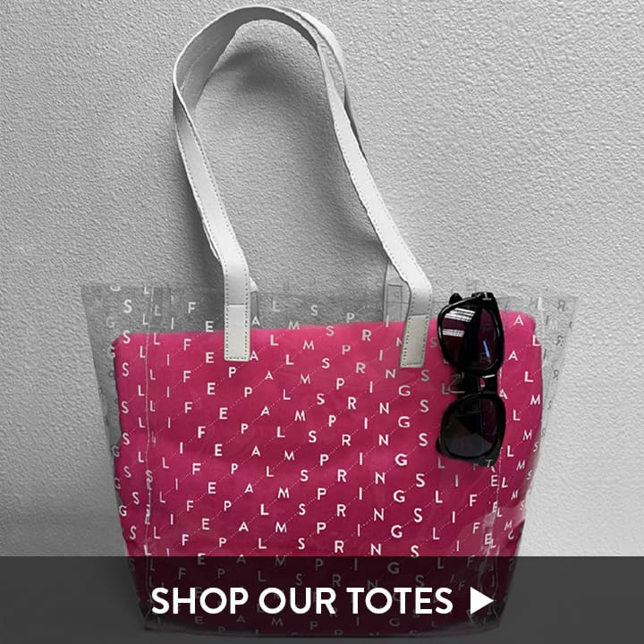 Palm Springs Life Tote Bags