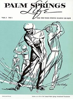 Palm Springs Vintage Golf Art