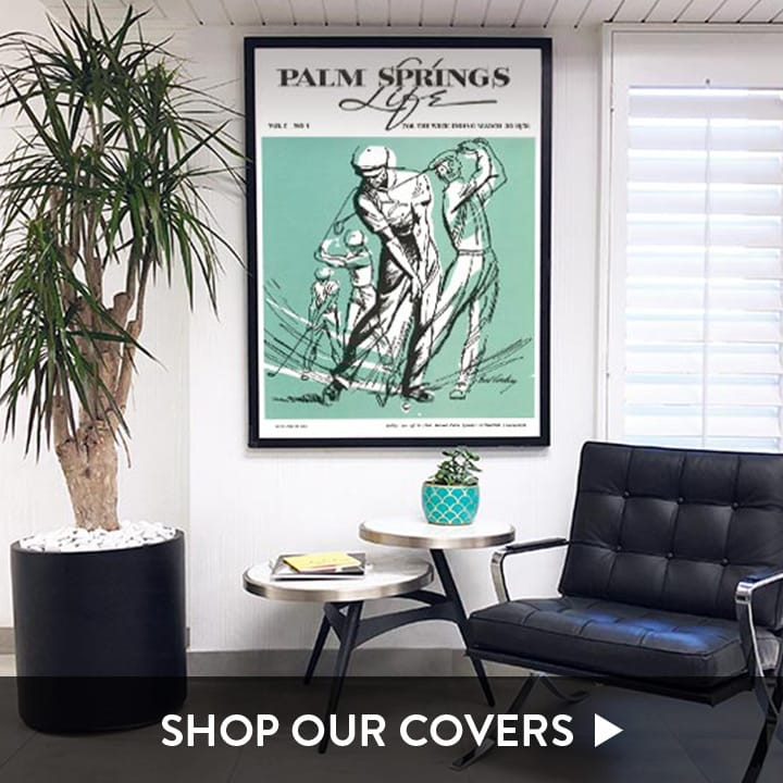 Palm Springs Life Cover Posters