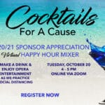Zoom - Virtual: 2020/21 Sponsor Appreciation Happy Hour Mixer