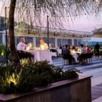 Weekly Elevated Rooftop Dining Under The Stars at Kimpton The Rowan Hotel Palm Springs