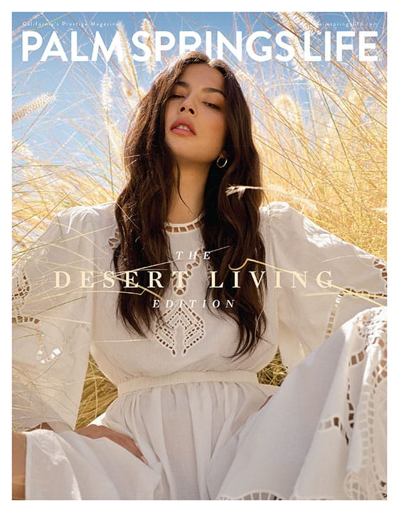 Palm Springs Life Magazine September 2020 Cover