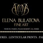 Elena Bulatova Fine Art on El Paseo in Palm Desert is Open by Appointment