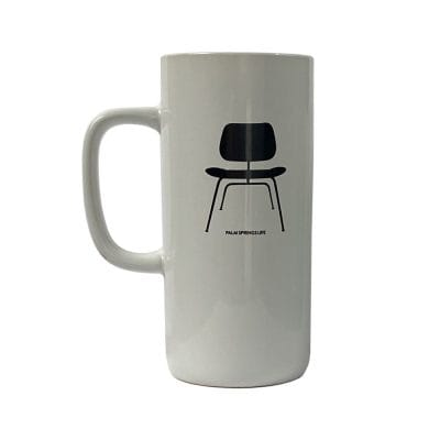 Modernist Chair Mug - White