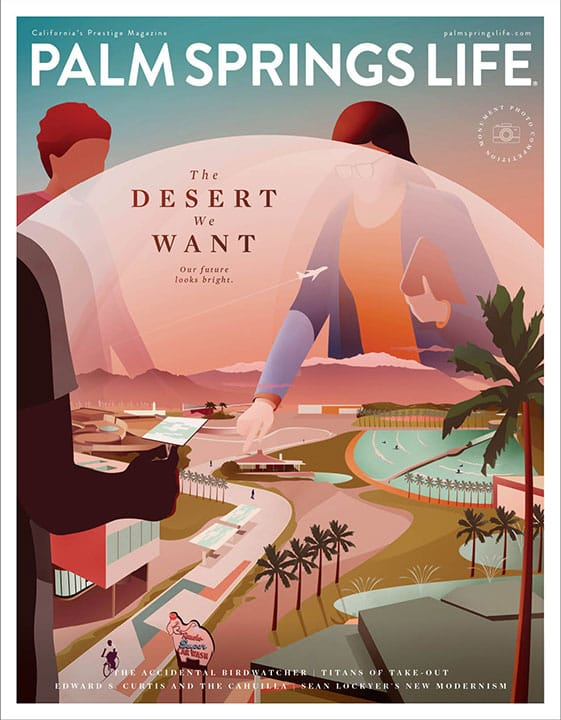 Palm Springs Life October 2020 cover