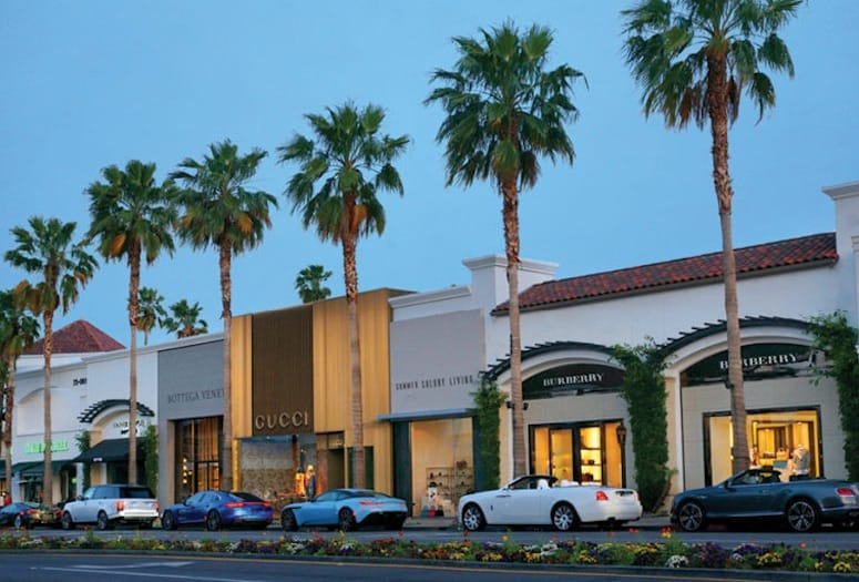 palm desert shopping