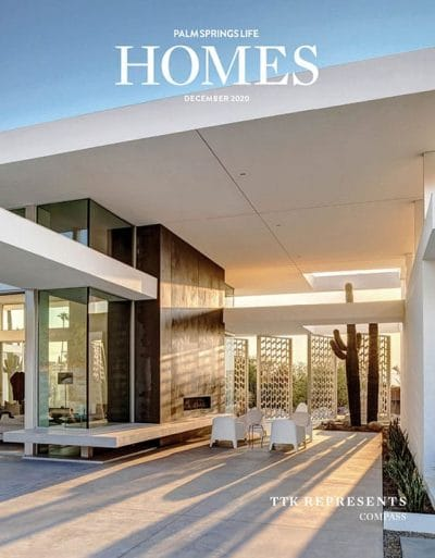 Palm Springs Life HOMES December 2020