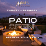 Mitch's on El Paseo in Palm Desert is Open Lunch & Dinner for Patio Dining and Take-Out