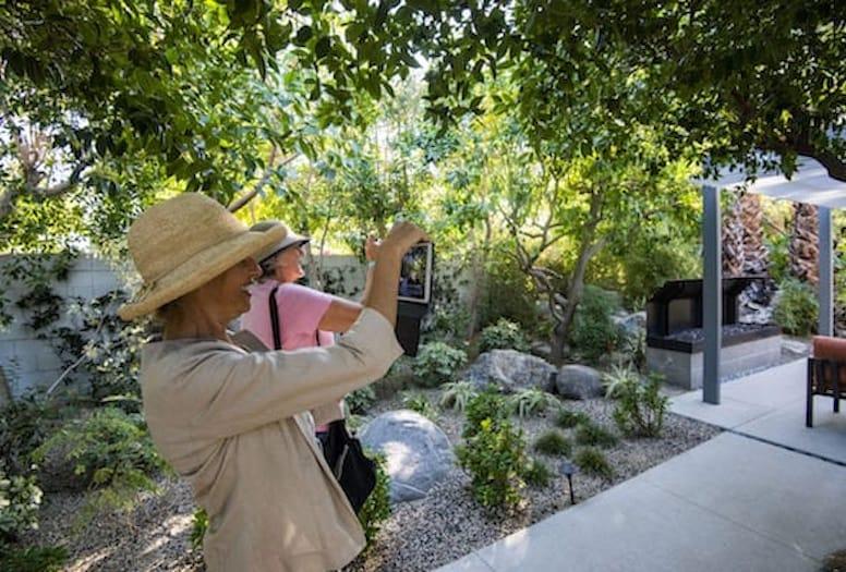 modernism garden tour