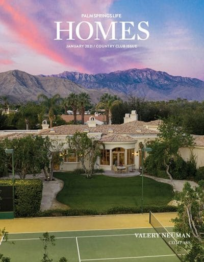Palm Springs Life HOMES January 2021
