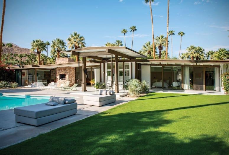 kirk douglas house palm springs