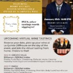 Virtual Wine Tasting Events with La Quinta Cliffhouse