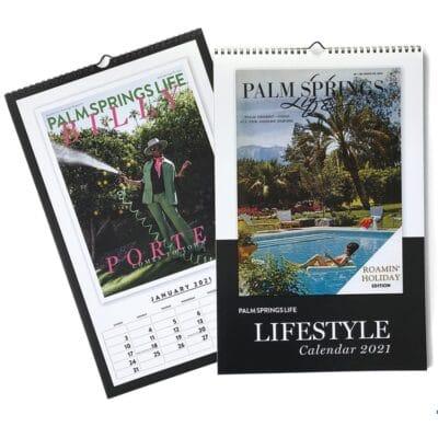 Palm Springs Life Lifestyle Calendar