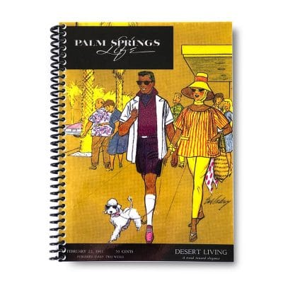 Palm Springs Life Lined Notebook – February 22 1961